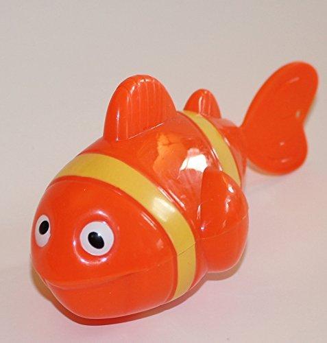 UPC 651903506122, Agglo Beach Fun Orange Wind Up Clown Fish Beach Bathtub Toy