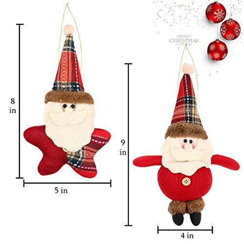 5e51c6a99a656 Amazon.com  Aitey Christmas Plush Ornaments