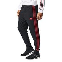 2017-2018 AC Milan Adidas Sweat Pants (Black)