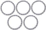 FANQIE 5pcs Bike Headset Bearings, Replacement Bike Ball Bearing for Bicycle Headset, 20 Balls Haedset Bearing