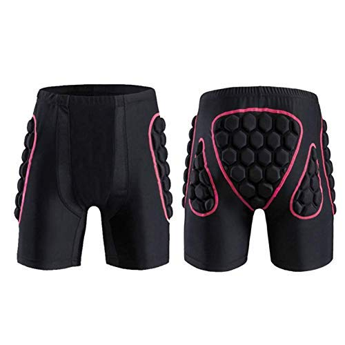 3D Protection Hip Butt EVA Padded Shorts Pants Impact Pad Protective Gear Guard Breathable Ski Skate Biking Riding Volley Soccer Motorcross Paintball Ice Hockey Sport Padded Shorts Pants for Men Women