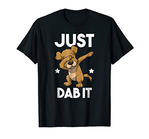 Just Dab It! Funny Dabbing Dog T-Shirt
