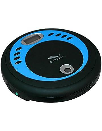 Sytech SY933CDMP3 - Lector de CD y Reproductor de CD/MP3 portátil, Color Azul