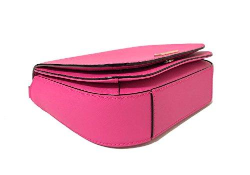 Peony Carsen Bag Spade Laurel Pink Kate Saffiano Large York New Crossbody Way Leather SAPSY6qw