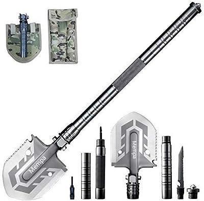Mempa Ultimate Survival Tool 16-in-1 Multi-Purpose Folding Shovel by Mempa