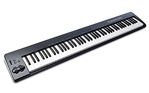 Alesis Q88 | 88-Key USB/MIDI Keyboard Controller with Pitch & Mod Wheels (Alesis Usb Midi)