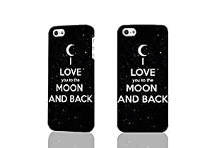 I Love You To The Moon And Back 3D Rough Case Skin, fashion design image custom , durable hard 3D case cover for iPhone 5 5S , Case New Design By Codystore
