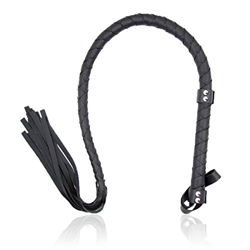 TrendsBlue Black Catwoman Halloween Costume Leather Whip