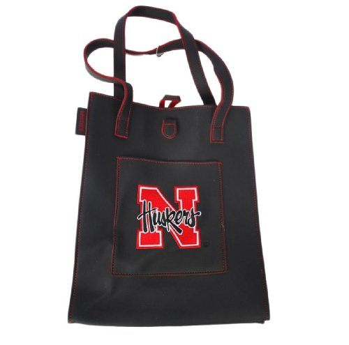 Nebraska Cornhuskers Alan Stuart New York Womens Black Purse 10