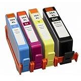 Prestige Cartridge 4x HP364X L Ink Cartridges–Black/Cyan/Magenta/Yellow