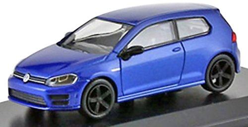 京商オリジナル 1/64 VW ゴルフ R 2012 ブルーメタリック 完成品