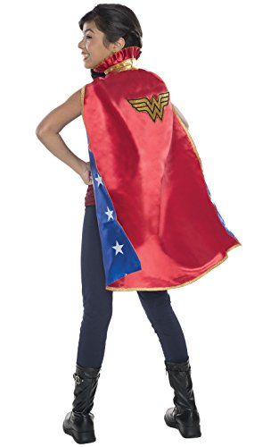 Rubie's Costume DC Superheroes Wonder Woman Deluxe Child Cape (Comic Book Heroines Costumes)