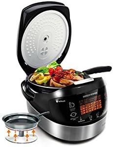 REDMOND RMK-M911RU - Cocina multiusos con sartén para freír: Amazon.es: Hogar