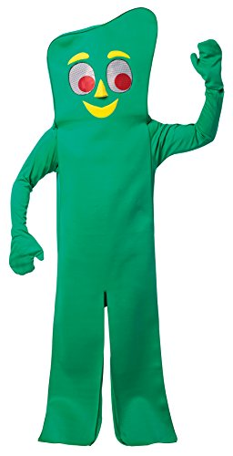 UHC Gumby Jumpsuit Funny Theme Party Outfit Adult Halloween Fancy Costume, OS