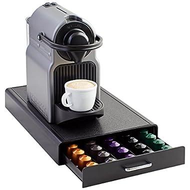 AmazonBasics Nespresso Pod Storage Drawer - 50 Capsule Capacity