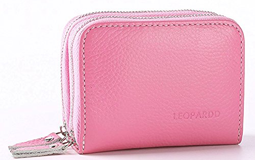 RFID Blocking Leather Wallet for Women, Latest Credit Card Safe RFID Block Security Travel Wallets/Holder/Case/Protector for Ladies