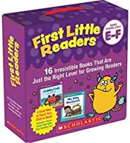Scholastic First Little Readers Parent Pack: Guided Reading Levels E &am