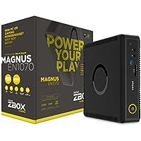 Zotac Magnus Intel Core i5-7500T 2.7GHz/2TB 5400RPM + 120GB M.2 Solid State Drive - 16GB DDR4 SDRAM - Nvidia GeForce GTX 1070 8GB GDDR5 Graphics - Windows 10 Mini Gaming Desktop