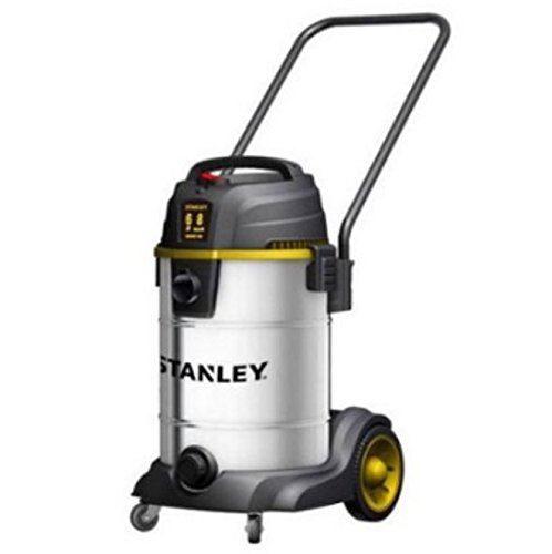 Stanley 8 Gallon 6 Horse Power Stainless Steel Wet/Dry Vacuum