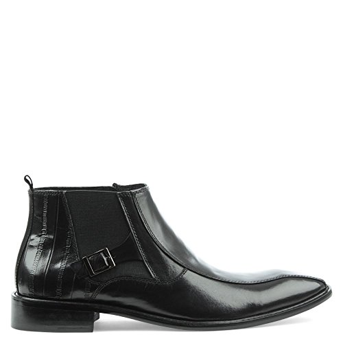 Daniel Halstock Black Leather Chelsea Boot Black Leather