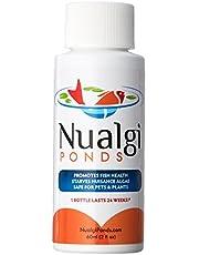 Nualgi Ponds - Natural Algae Control, Water Clarifier & Algaecide Alternate - 100% Safe for All Fish, Plants & Animals (1 x 60ml)