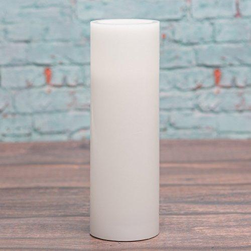 Richland Flameless LED Pillar Candles White 3