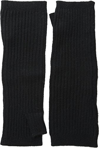 Hat Attack Women's Cashmere Arm Warmers, Black, One ()