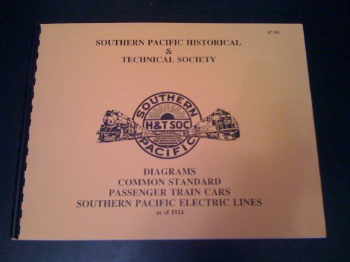 - Southern Pacific Common Standard Diagrams for Passenger Train Cars on Electric Lines as of 1924