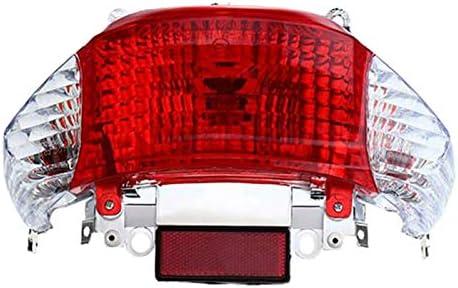 Senmubery Feu Arri/èRe de Moto pour Scooter Gy6 50Cc Feu Arri/èRe LED Clignotant Lampe Indicateur pour Chinois Taotao Ensoleill/é
