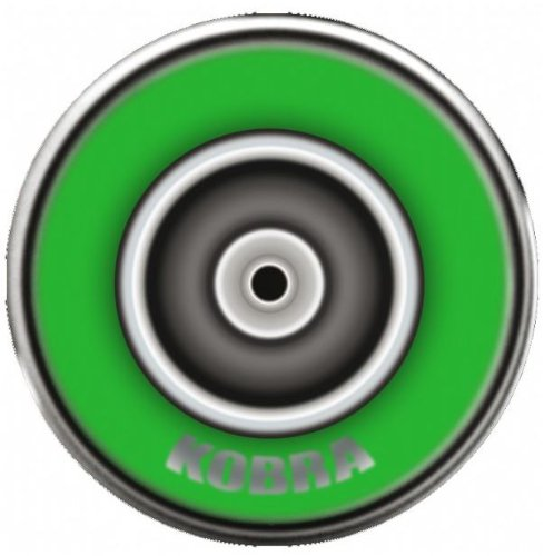 Kobra HP052 400ml Aerosol Spray Paint - Fluorescent Green