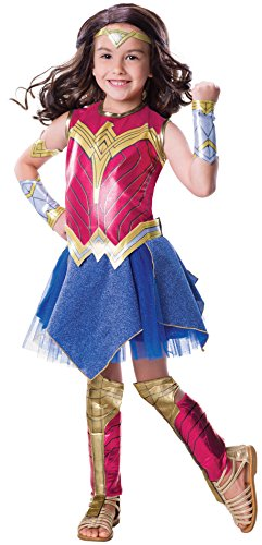 Rubie's Costume Co Justice League Child's Wonder Woman Deluxe Costume -