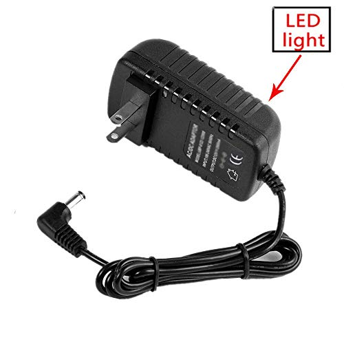 yan AC-DC Adaptor 9V 1A Power Charger for X Rocker Gaming Chair Mains Supply Cord
