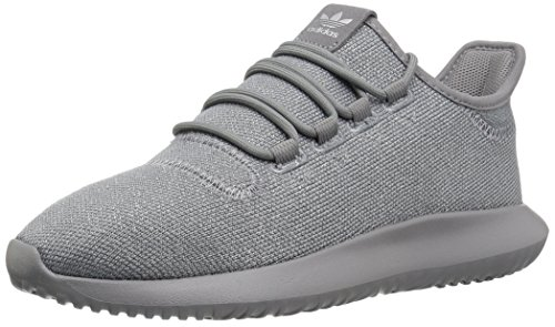 adidas Originals Boys' Tubular Shadow J Running Shoe, Grey Three/Metallic Silver, 5.5 M US Big Kid