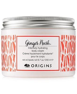 Origins Ginger Rush Intensely Hydrating Body Cream 6.7oz/200ml (Packaging May Vary)