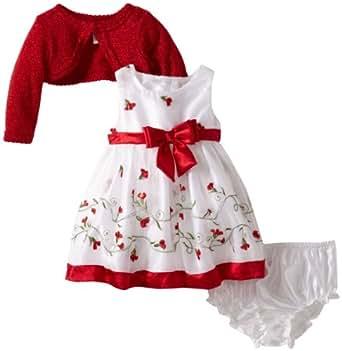 Amazon.com: Youngland Baby-Girls Newborn Border Schifflie