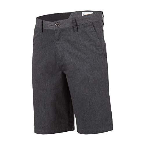Volcom Men's Frickin Chino Short, Charcoal Heather, 30 by Volcom