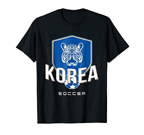 Korean Football T-Shirt - South Korea Soccer Jersey 2018 (Korea Soccer Pride T-shirt)