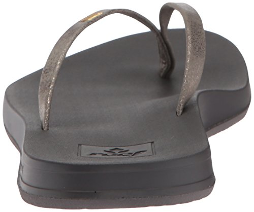 Sandalo 9 Uk Nero Barriera Pew Grigio Donna Di Di Sottile Cuscino Rimbalzo peltro qUSzqt