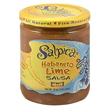 Salpica Salsa Hot Habanero Lime