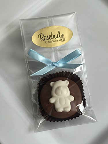 TEDDY BEAR Milk Chocolate Covered Oreo Cookies Candy Party Favors
