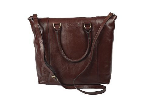 Leather Polished Ashwood Style Classic Tote By Shopper Chestnut Brown Bag 5SqwwEP
