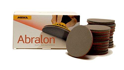 MIRKA Abralon 3 Inch 1000 Grit Sanding Discs, 20 per box