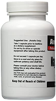 Magnolia Bark Extract 4:1 90 Capsules 2400mg by AmerMed