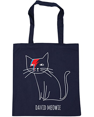 HippoWarehouse Gym Navy Meowie Tote x38cm David 10 42cm litres Beach Shopping French Bag rHI6rwqpn