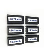2600mAh -6PCS Combo - Ext Battery for Trimble 5700, 5800, R7, R8 GPS Receiver