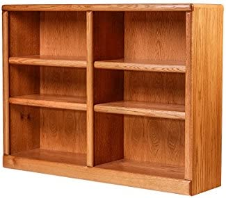 Forest Designs Bullnose Oak Bookcase 48W X 96H X 13D 96h Black Oak