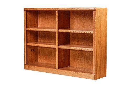 Forest Designs Bullnose Oak Bookcase: 48W X 48H X 13D 48h Cherry Alder