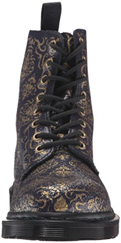 Dr.Martens Pascal Baroque Cristal Purple Womens Boots Morado