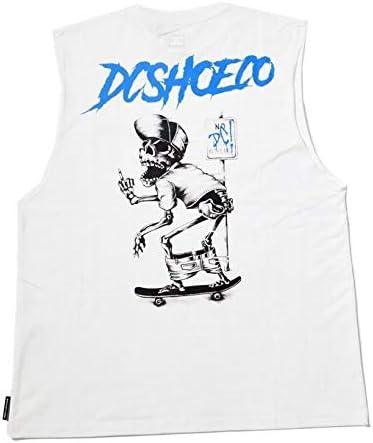 (ディーシーシューズ) DC SHOES ノースリーブ タンクトップ 大きいサイズ メンズ B系 スケーター 20 GRAPHIC SLEEVELESS 5226J021 ホワイト