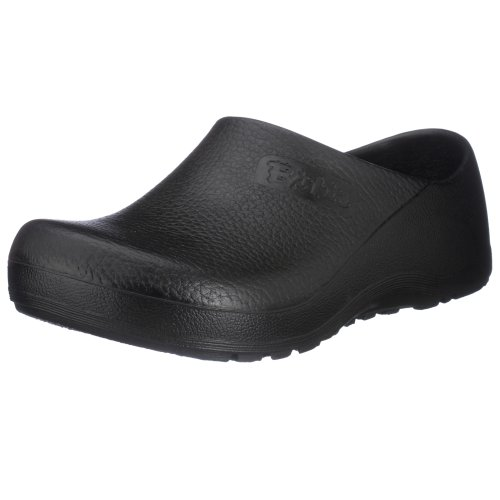 Image of the Birkenstock Professional Unisex Profi Birki Slip Resistant Work Shoe,Black,43 M EU